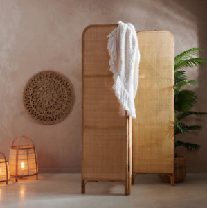 room divider | Rattan Screen | Wood screens | Small Space alternative