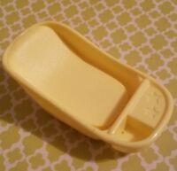 BARBIE DOLL HAPPY FAMILY PREGNANT MIDGE & BABY 2002 YELLOW BATHTUB REPLACEMENT