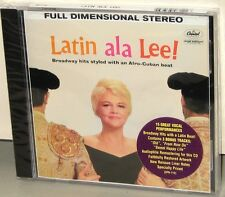 CISCO / S&P CD SPR-712: PEGGY LEE - Latin Ala Lee - OOP 2003 USA Near Mint