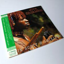 Robin Scott - Jive Shikisha JAPAN MINI LP CD Sealed African Folk #0405*