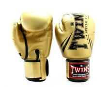 Twins TW6 Boxing Gloves Gold Black Boxing Kickboxing Muay Thai Sparring Training