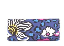 New Vera Bradley African Violet Sunglasses Case w/ microfiber cloth