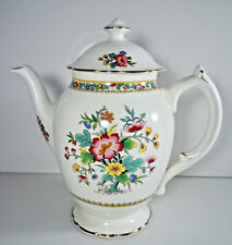 Coalport Ming Rose Coffee Pot and Lid 5 Cup