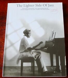 THE LIGHTER SIDE OF JAZZ PIANO SOLO SHEET MUSIC BOOK 24 TUNES (2007)