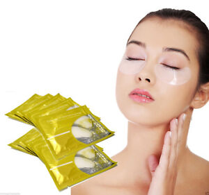 Collagen Crystal Eyelid Patch Anti Ageing Wrinkles Puffiness Dark Circles UK