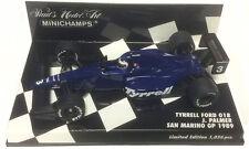 Minichamps TYRRELL FORD 018 San Marino GP 1989-Jonathan Palmer scala 1/43