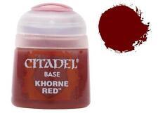 Warhammer 40,000 Citadel Base Paint Khorne Red GAW 21-04-S