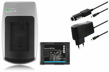 Chargeur+Batterie BP-819 pour Canon VIXIA HF200, HG20, HG21 / XA10