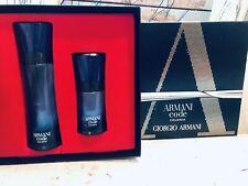 ARMANI CODE COLONIA 2 Pack Gift Set Giorgio Armani Cologne Men 50ML 125ML France