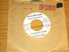 LOT OF 2 PROMO COUNTRY 45 RPMs - MELBA MONTGOMERY - MUSICOR 1157 & 1241