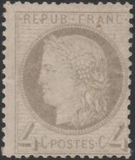 """FRANCE STAMP TIMBRE N° 52 a """" CERES 4c GRIS-JAUNATRE """" NEUF x TB SIGNE  J861"""