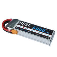 HRB 5000mAh 3S 11.1V 50C 100C LIPO BATTERY XT60 TRAXXAS CAR BUGGY BOAT PLANE RC