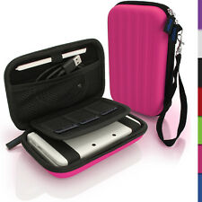 Pink EVA Hard Carry Case Cover for New Nintendo 3DS Travel Sleeve Bag Pouch