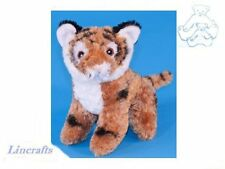 Sitting Tiger Cub  Plush Soft Toy Wildcat by Dowman Soft Touch.RBL206