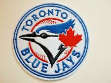 "Toronto Blue Jays Embroidered Applique PATCH~3 1/8"" Round~Iron Sew On~Ships FREE"