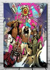 20x20 24x24 Poster Flatbush Zombies 3001 A Laced Odyssey Album Cover K-841
