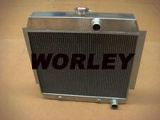 3 core aluminum radiator for CHEVY V8 W/COOLER 1951 1952 1953 1954
