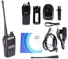 WALKIE TALKIE BAOFENG UV-82L PTT Dual Band V/U 5W Radio DTMF PMR RICETRASMITTENT
