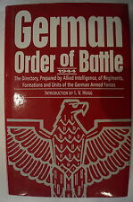 WW2 German Order Battle 1944 Allied Intelligence Armed Forces Reference Book
