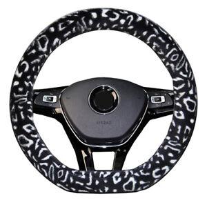 D Type Steering Wheel Cover For Citroen C4 Cactus C3-XR Spacetourer C3 AIRCROSS