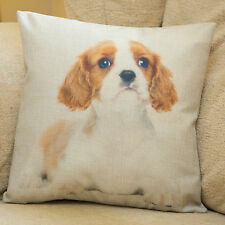 King Charles Spaniel Cushion Cover, 33cm, Photo Printed, 15 Dog Breeds Available