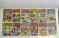 Lot of 12 Archie Comics Groups Series Comic Books & Betty And Veronica Vintage