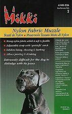 MIKKI NYLON FABRIC MUZZLE SIZE 2 SOFT FLEXIBLE