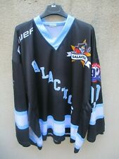Maillot hockey GALACTIC GALACTICS n°0,0 CARRY shirt jersey BAUER made France XL