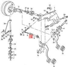 823711199 Original VW Pressure Spring