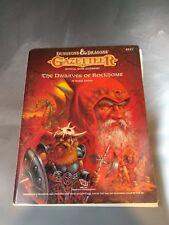 D&D Gazetteer The Dwarves of Rockhome TSR item 9227