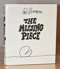 STATED 1ST/1ST EDITION ~ THE MISSING PIECE ~SHEL SILVERSTEIN