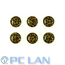 6 PCS Leopard Patterns Home Button Sticker for iPhone 3G/3GS/4/4S + Bonus Set