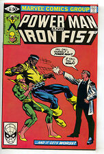 Power Man And Iron Fist 68 Marvel 1981 NM- Luke Cage Frank Miller