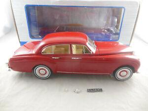 Model Car Group Rolls Royce Silver Cloud III in Red 1:18 Scale