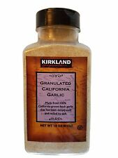 Kirkland Signature Granulated California Garlic Finest Quality 18 oz