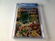 FANTASTIC FOUR 97 CGC 9.2 WHITE PAGES MONSTER FROM LOST LAGOON MARVEL COMICS