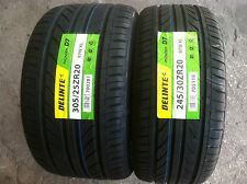 NEW (Set of 4) 245 30 20 (x2) & 305 25 20 (x2) Delinte Thunder D7 series tires