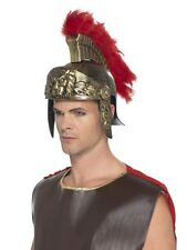 Adult Mens Roman Spartan Soldier Gladiator Helmet Fancy Dress Accessory