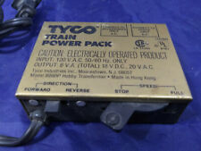 Tyco Model 899BP Hobby Transformer Railroad Train Power Pack. HO Scale