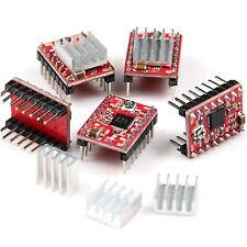 A4988 Red Stepper Motor Driver Module 5Pcs For Reprap Pololu 3D Printer