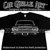 Car Grille Art™ Teeshirt, T-Shirt, 1965 Chevy, Chevrolet, Chevelle SS, Malibu SS