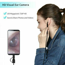LED Ear Cleaner Scoop Endoscope Camera Pick Otoscope HD Ear Wax Remover Tool