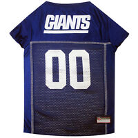 New York Giants Licensed NFL Pets First Dog Pet Mesh Jersey XS-2XL NWT