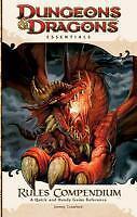 Rules Compendium: An Essential Dungeons & Dragons Compendium von Jeremy Crawford (2010, Taschenbuch)