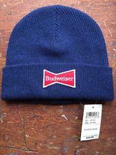 Lucky Brand Budweiser Beanie Wool Winter Hat NWT