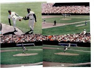 SAN FRANCISCO GIANTS ~ Lot of Snapshots of c1960's Game