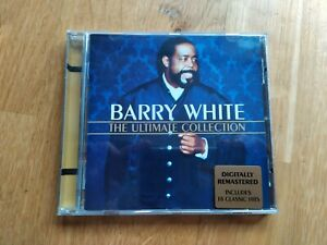 """CD BARRY WHITE """" The Ultimate collection"""""""
