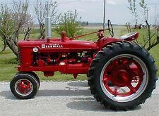 McCormick Farmall H & HV Tractor Parts Manual