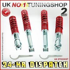 COILOVER VW GOLF MK1 CABRIO  ADJUSTABLE SUSPENSION KIT + TOP MOUNTS FRONT / REAR