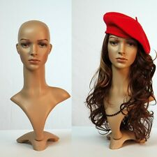 Female Mannequin deko-kopf Wig Head Bald Female Head FD-2 Decor